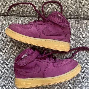 Nike Force 1 Suede Sneakers